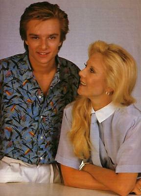 photo 10*15cm 4x6 INCH SYLVIE VARTAN et DAVID HALLIDAY