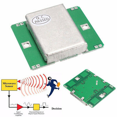 HB100 Microwave Motion Sensor 10.525GHz Doppler Radar Detector for Arduino -UK