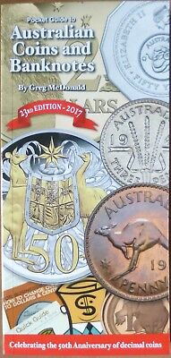Latest Australia 2017 Coins & Banknotes Catalogue 23rd Edn by G.McDonald 496 Pgs