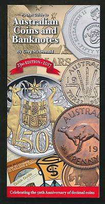 NEW! Australia 2017 Coins & Banknotes Catalogue 23rd Edn by G.McDonald 496 Pgs