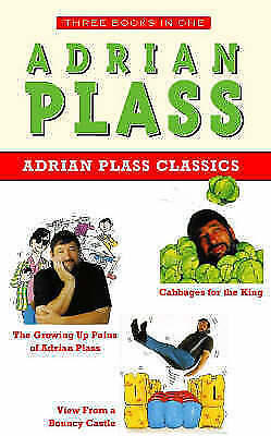Adrian Plass Classics:Growing Up Pains of Adrian Plass,Cabbages for the King,Vie