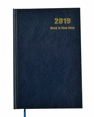 2019 A4 Day A Page Diary Hardback Personal Diary Saturday & Sunday Full Page
