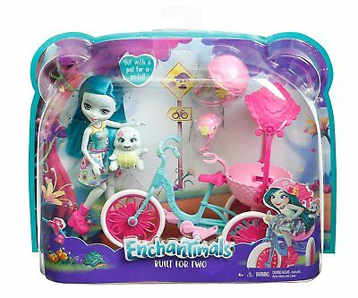 Enchantimals Tricycle Built for Two Doll Set [Ages 4+] **BRAND NEW**