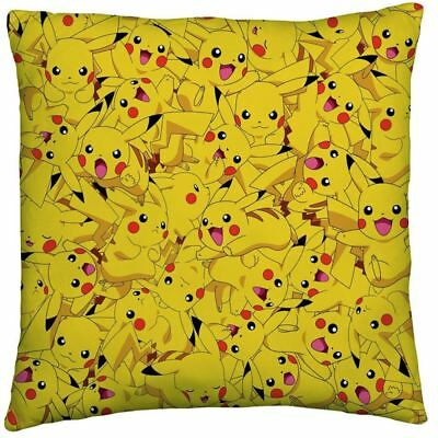 Pokemon Catch Go Large Cushion 2 Designs Reversible New