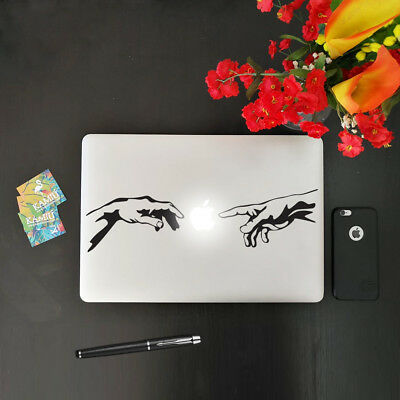 "Adesivo per Macbook Notebook Pc Portatile""CREATION""Sticker in Vinile prespaziato"
