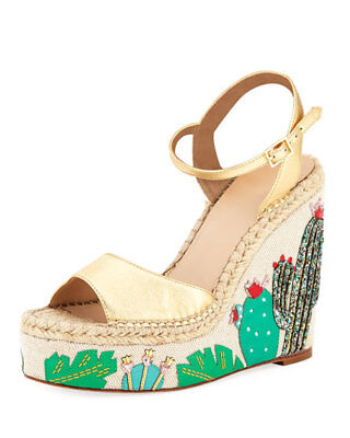 e046dc8d0016 KATE SPADE NEW York Dallas Cactus Wedge Sandals -  149.95