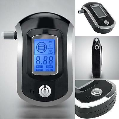 Digital police breath alcohol tester analyzer detector breathalyzer test LCD WT