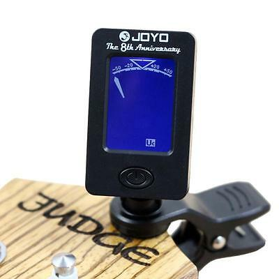HOT Digital LCD Clip-on Electronic Chromatic Tuner Guitar Bass Violin Ukulele WT