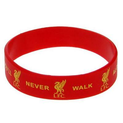 Liverpool FC Silicone Rubber Wristband New Official Accessories