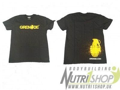 Grenade T-Shirt men gym fitness size large