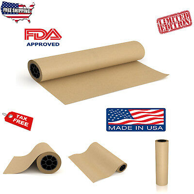 Brown Butcher Paper Roll Beef Brisket Barbecue BBQ Grilling Meat Smoking Wrap