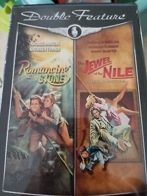 Romancing The Stone & The Jewel Of The Nile Dvd New Sealed Free Shipping