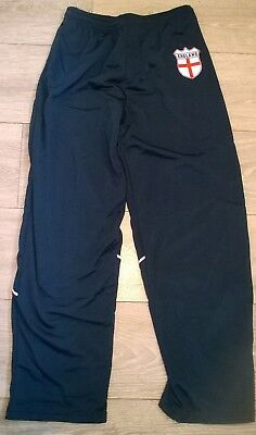 boys girls jogging tracksuit bottoms trousers ENGLAND NAVY BLUE Age 8 9 10 15 16