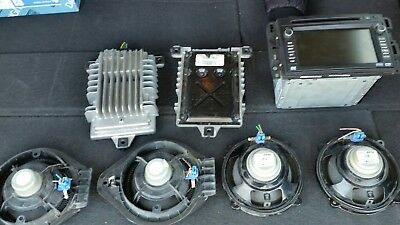 2007-2008 gmc acadia complete sound and navigational system