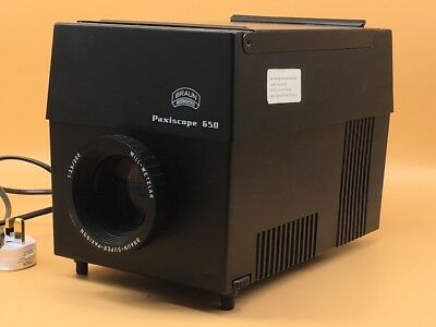 Braun Paxiscope Large/Medium Format (Slide) Projector - Up To 14cm x 14cm
