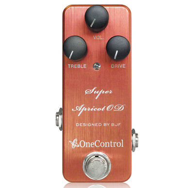 One Control Super Apricot OD Amp-In-A-Box Overdrive Guitar Effects Pedal
