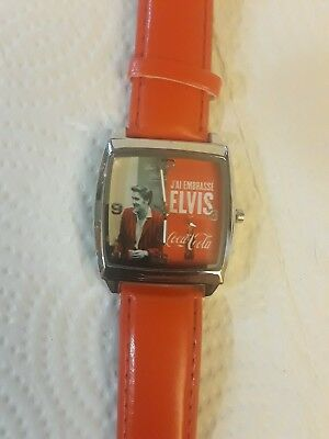 Elvis Coca Cola Watch brand new. Makes great gift or collectors item, Elvis fans