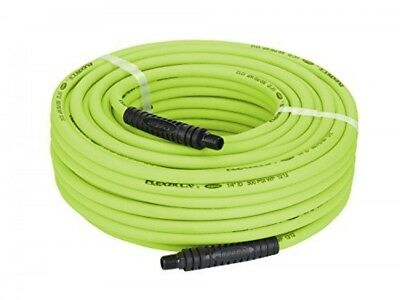 Flexzilla Air Hose, 1/4 in. x 100 ft., 1/4 in. MNPT Fittings, Heavy Duty,