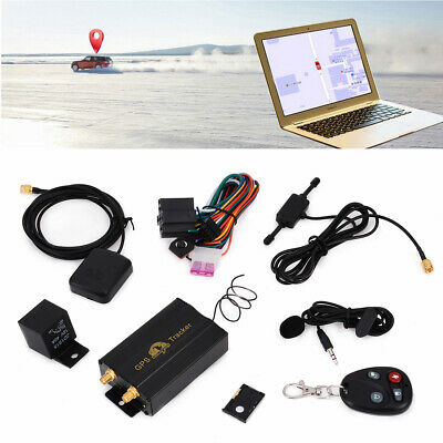 TK103B GPS/GSM/GPRS Vehicle Truck Car Tracker Locator System+Remote Kit New
