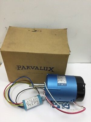 New Parvalux SD12 190w AC Electric Motor Single Phase 4000RPM W07785 VENT