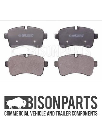 """""""fits Iveco Daily (2011-2014 & 2014 On) Rear Axle Brake Pad Set 29232 Bp106-019"""