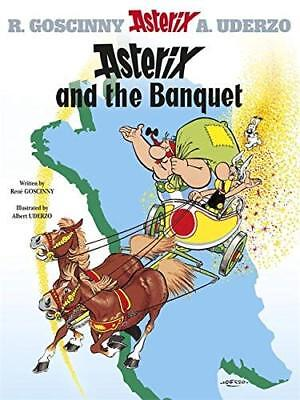 Asterix: Asterix and the Banquet by Rene Goscinny New Hardback Book