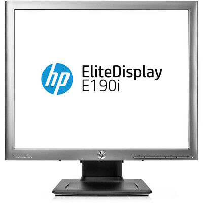 "HP Elite E190i 18.9"" LED LCD Monitor EliteDisplay E190I Monitor"