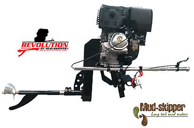 MUD-SKIPPER SURFACE DRIVE MUD MOTOR KIT FITS 8-23HP ENGINES (sold separately)