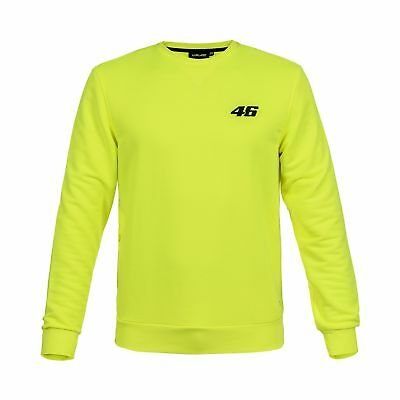 Valentino Rossi VR46 Moto GP Core Logo Yellow Sweatshirt Official 2018