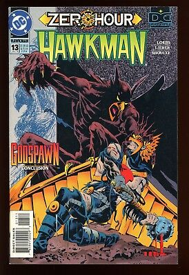 Hawkman #13    * First Print *  Zero Hour Tie-In        Nm