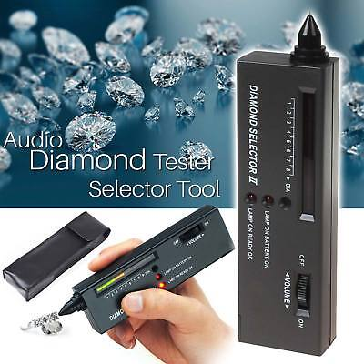 Audio LED Schmuck Tester Diamant Edelstein Authentifizierung Test Selector Tool