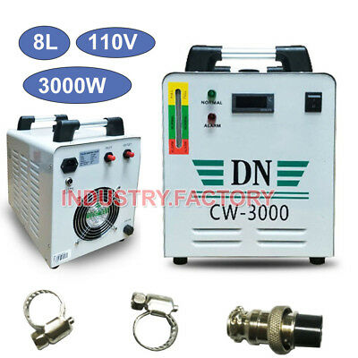 AC110V CW-3000 Industrial Water Chiller for CNC Laser Engraver Engraving Machine