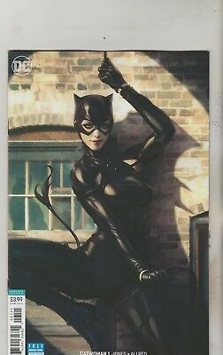 Dc Comics Catwoman #1 August 2018 Variant 1St Print Nm
