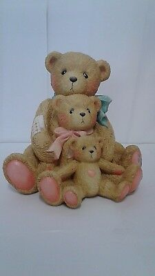 Cherished Teddies Theadore Samantha Tyler Figurine # 951196 Large With Box