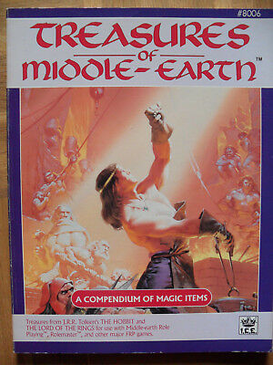 """rolemaster mers merp """"treasures of middle earth"""""""
