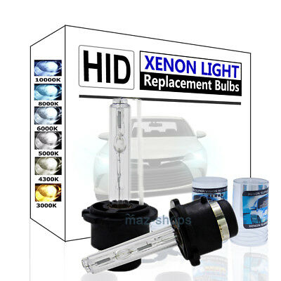 2 x D2S 35W Xenon Headlight Bulbs HID Replacement For AUDI BMW Benz 85122 66040