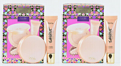 2 TARTE~Overexposed 2 PC Highlighter Set-Exposed 12 HR Clay & Exposed Pro Glow