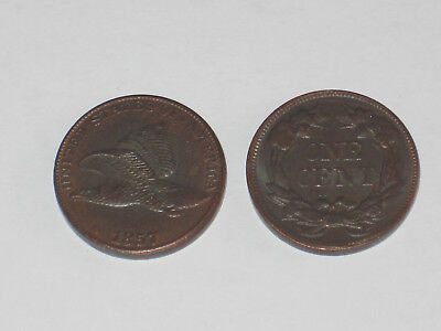 Flying Eagle 1857 one cent 1 cent