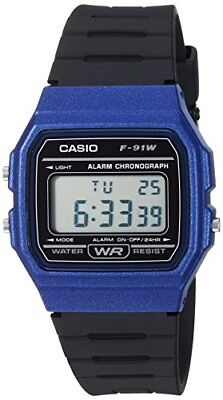 Casio Men's Classic Digital Quartz Resin Watch F-91WM-2ACF