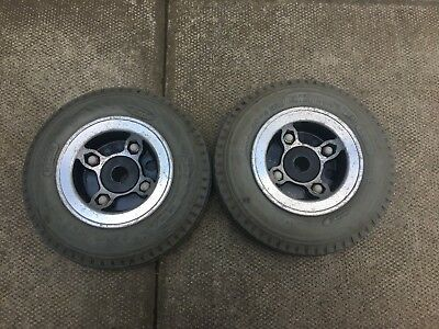TGA Eclipse Rear Wheels Solid Tyres Mobility Scooter Spare Part