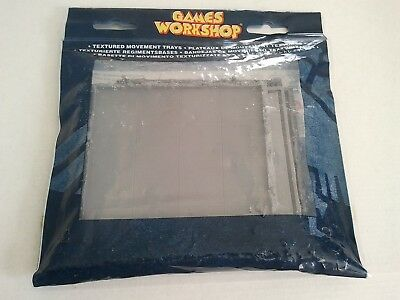 Warhammer Fantasy B. Textured Movement Trays (Pack of 4) Games Workshop Citadel