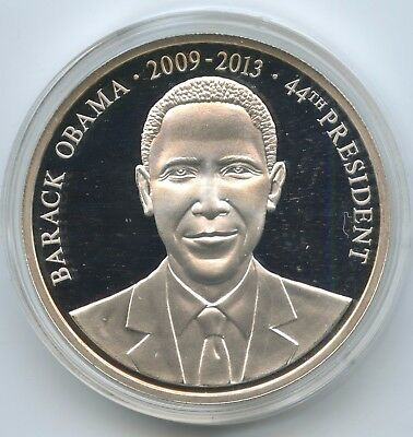GY965 - Medaille USA Barak Obama - 44th President United States of America