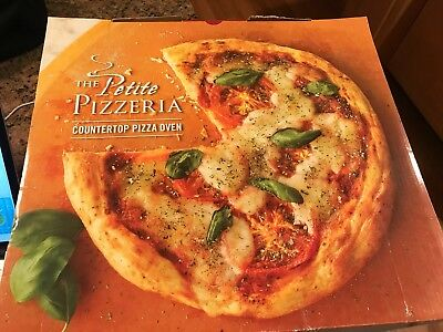NewWave - The Petite Pizzeria Countertop Pizza Oven LD 902