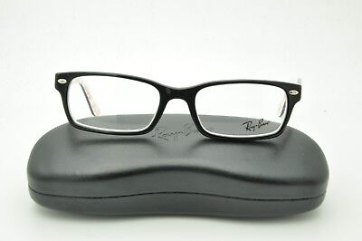 fb596d194b RAY-BAN BLACK GLASSES New with case RB 5206 2479 52mm -  55.35 ...