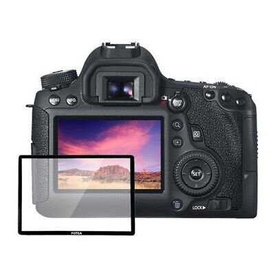 Hard Glass LCD Screen Protector Guard for Canon EOS 5D Mark II 40D 50D Camera
