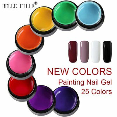 Belle Fille Nail UV Gel Polish Nail Art Gel Color Varnish Manicure UV/LED DIY