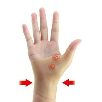 Healthcare Therapy Gel Wrist Hand Silicone Thumb Support Gloves Pain Relief