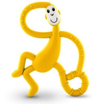 Matchstick Monkey Dancing Monkey Teethers - Yellow