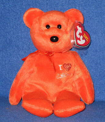00e68385cfa TY I LOVE CALIFORNIA BEANIE BABY - STATE EXCLUSIVE - MINT with MINT TAGS