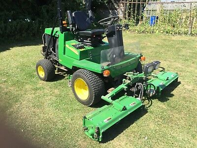 John Deere 900 4wd Diesel Ride on Mower Serviced and Sharpened Ready for Work